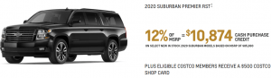 2020 Chevy Suburban Feb Special Offers