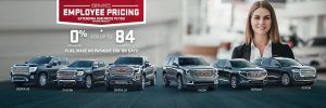 GMC Specials Offers Incentives Employee Pricing Toronto